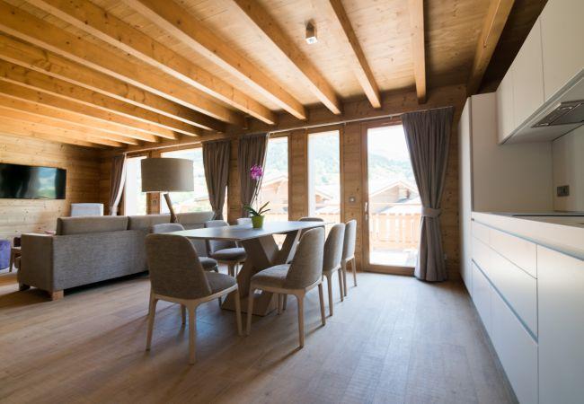 Chalet à Praz-sur-Arly - Chalet H Mont Bisanne 9 pers