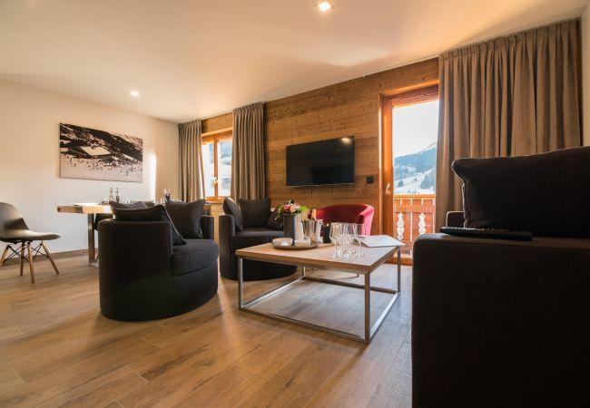 Appartement à Praz-sur-Arly - LES PORTES DE MEGEVE T3 Appartement Mont du Villar