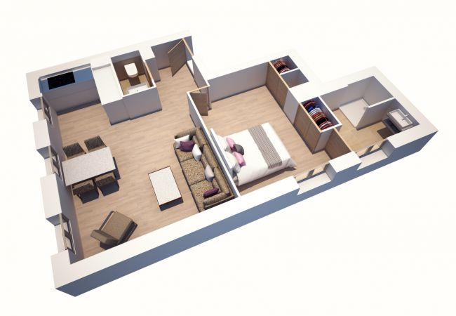 Appartement à Praz-sur-Arly - Appartement T2 Col de la Colombière