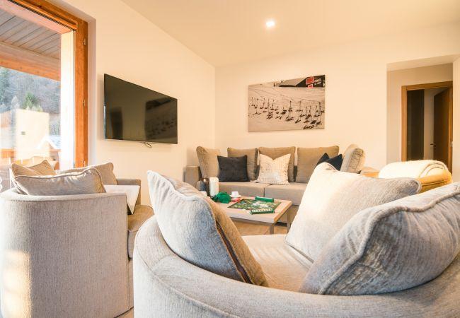 Apartment in Praz-sur-Arly - LES PORTES DE MEGEVE T3 Appartement  Mont Fleuri